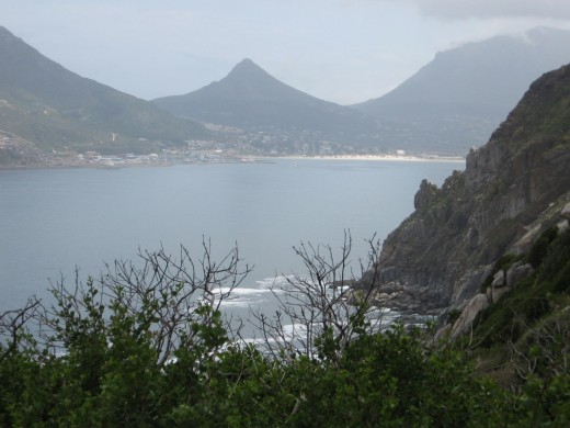 Chapmans Peak Road View, Hout Bay Near Cape Town