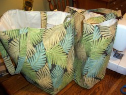 How to Make a Tote Bag or  a Reusable Grocery Bag