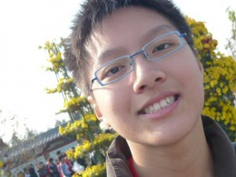 Wistful smile