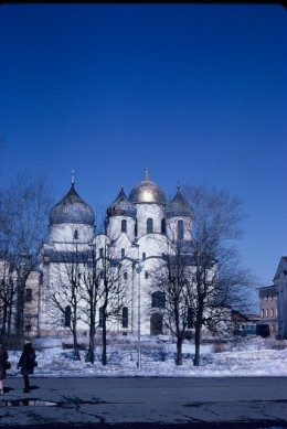 Old Russian Orthodox Church in Novgorod, Russia