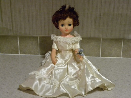 My bride doll.