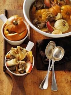 Pumpkin Cider Stew