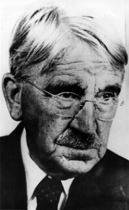"JOHN DEWEY ""THE FATHER OF MODERN EDUCATION"" AND BELOVED FIGURE OF THE LEFT"