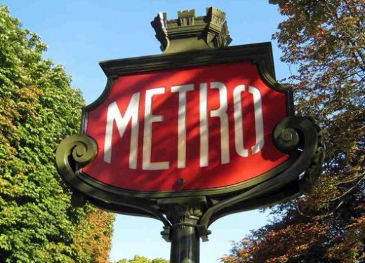 The Paris Metro allows you to get about all over the city on Paris breaks