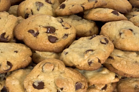 These are truly the best ever chocolate chip cookies.