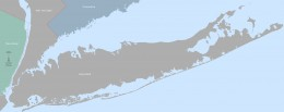 Map of Long Island, New York by Timo Forchheim.  Source Wikimedia Commons.
