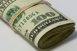 Bundle of Hundred Dollar Notes