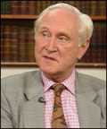 Sir Crispin Tickell  former British Permanent Representative to the United Nations and Permanent Representative on the Security Council, Chairman of the Gaia Society, Chairman of the Board of the Climate Institute, leading British climate change camp