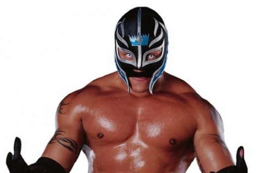 Rey Mysterio, contacts AND a mask