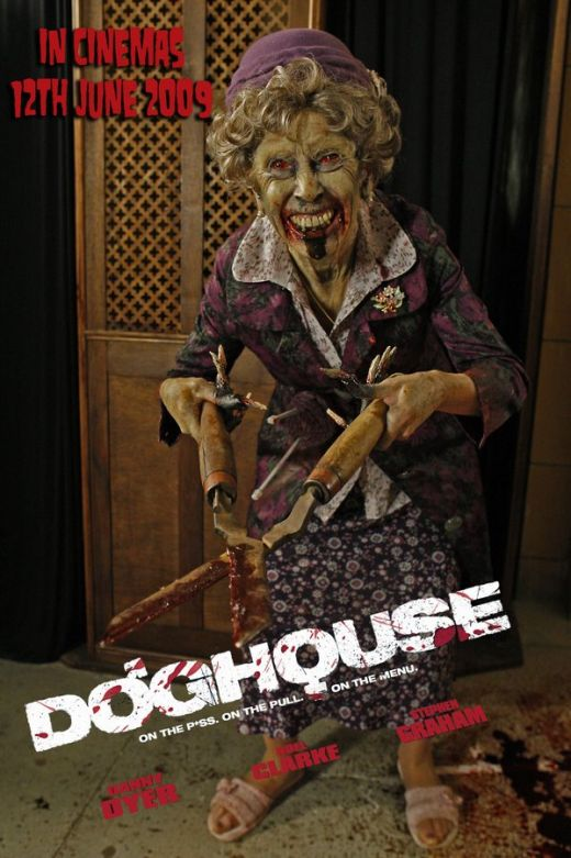 Doghouse - Can I cut your bush? granny wants a piece of the action!