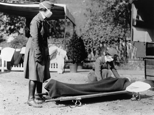 1918 Spanish flu victim