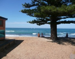 Mona Vale Beach.