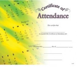 What a great way to recognize those who put for the effort to be there day in and day out.
