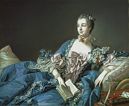 Madame de Pompadour (Jeanne-Antoinette Poisson, 1721 - 1764) about 1758 from The National Gallery of Scotland