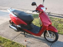 2010 Honda Elite scooter