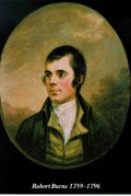 "Robert Burns (25 January 1759  21 July 1796) (also known as Rabbie Burns, Scottish poet, who wrote the ""Auld Lang Syne"""