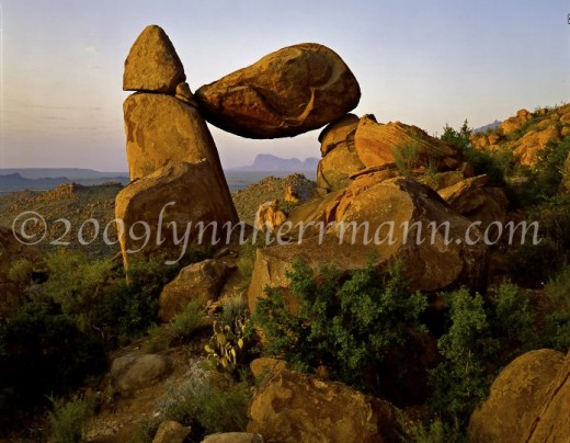 Great rock photography can be found along the Grapevine Hills road in Big Bend National Park.