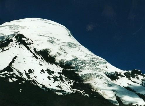 Chimborazo's peak