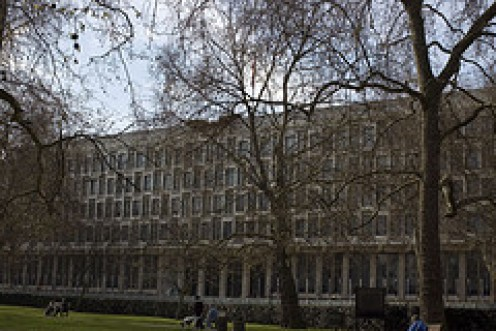 The American Embassy in Grosvenor Square