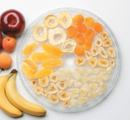Great for banana chips, just soak in lemon juice/vitamin C juice for 1 minute before drying so they don't go brown:)