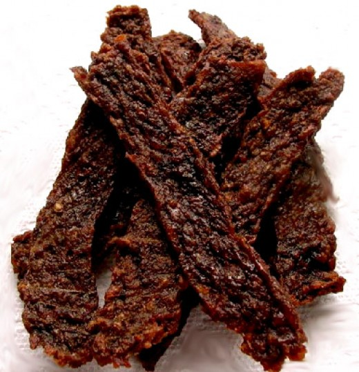 Tasty homemade Jerky