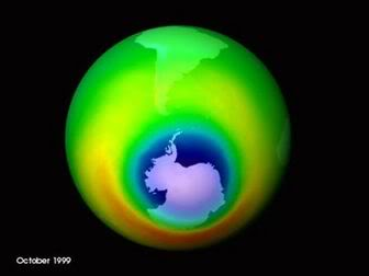 The depletion of the ozone layer will inevitably cause green house in our planet earth, that will trigger climate change.