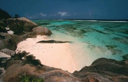 Anse source beach, Seychelles
