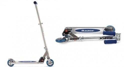 Razor scooter blue