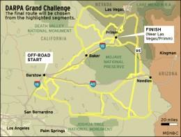 2004 Grand Challenge Route