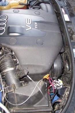 My Own Hydrolyzer in my Audi A6 2.5 Turbo Diesel