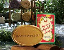 The Original pure natural sandalwood oil soap.