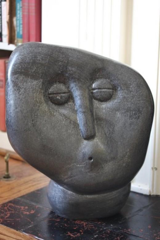 Whistling Man, Fanizani Akuda, Shona Sculptor, Zimbabwe   deedsphoto