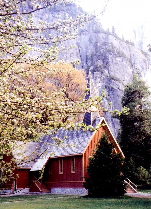 A chapel on the Valley floor