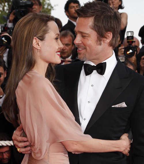 Brad Pitt and Angelina Jolie at Cannes  May 21, 2009
