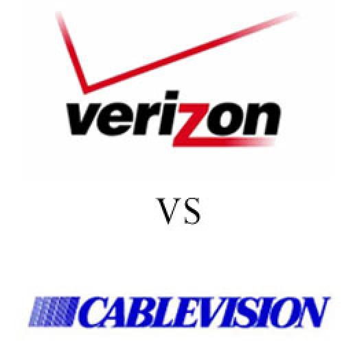 Verizon FiOS vs CableVision