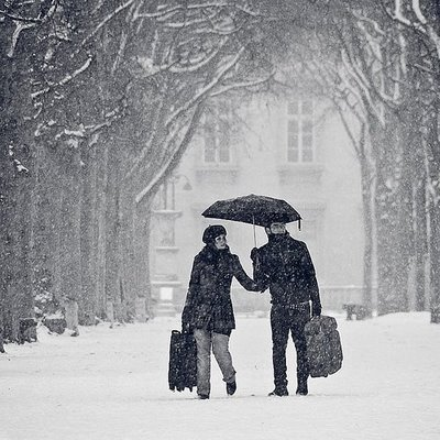 You mostly won't have to worry about such snow fall. :)