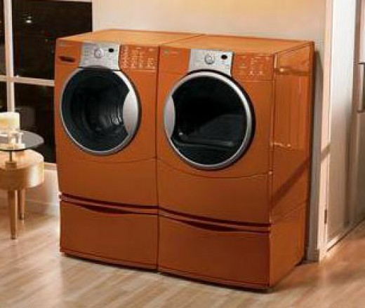 Kenmore washer dryers come in many stylish colors!
