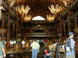 Inside Animal Kingdom Lodge