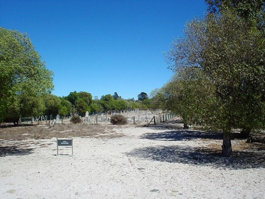 Leper Graveyard on Robben Island.