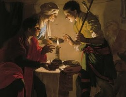 """Esau Selling His Birthright"" by Hendrick ter Brugghen - c.1627"