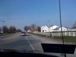 An Amish farm outside Fort Wayne.