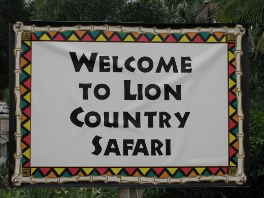 Welcome To Lion Country Ssafari