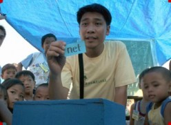A slum kid himself, Efren Penaflorida has great compassion for slum kids.