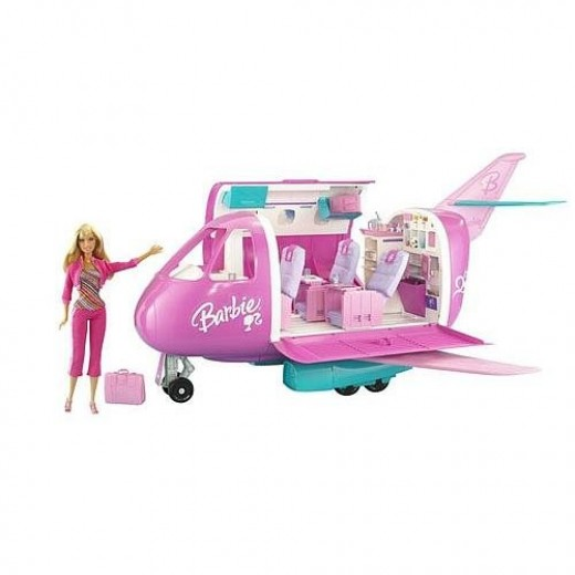 The Barbie Glamour Jet Airplane