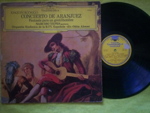 Classical album cover for Concierto de Aranjuez