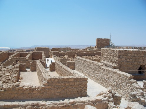 Ancient Storehouses: Masada, Israel