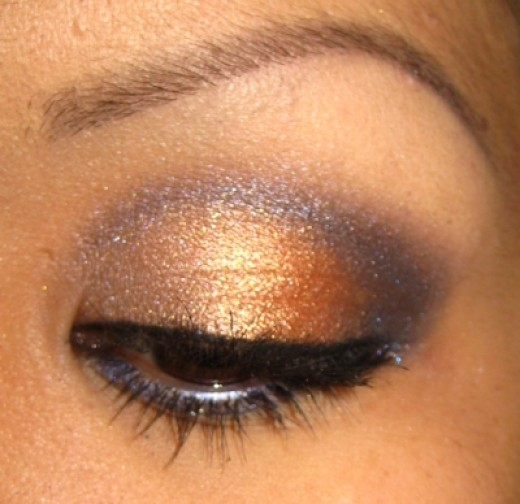 Professionally applied Eyeshadow