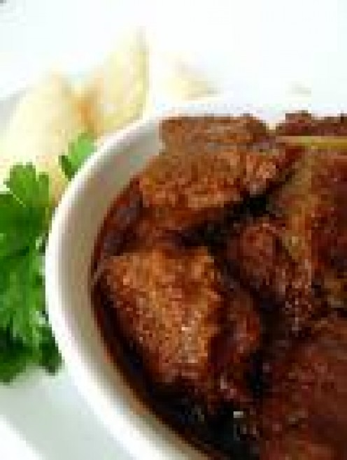 Irresistible beef rendang