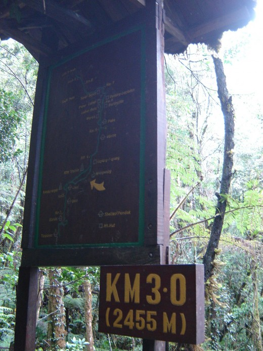 3.0 km Kota Kinabalu Park