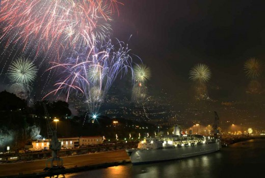 Fireworks in Madeira